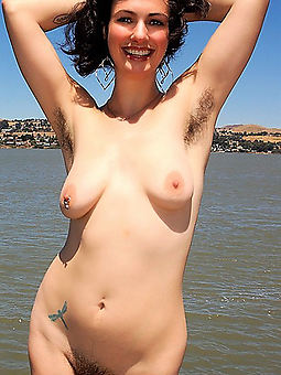wild hairy armpits picture