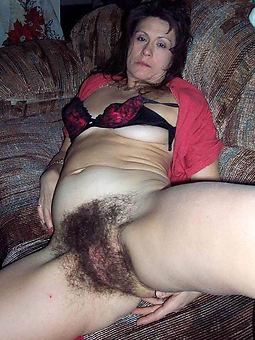 hairy black bush strip