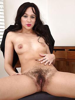 Hairy Brunette