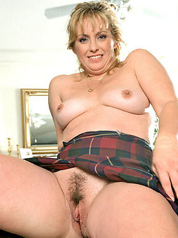real hairy blonde