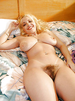 hairy blonde pussy and still sexy