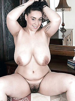 heavy tits hairy cunt