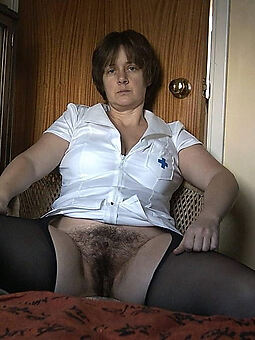 hairy of age housewife and still XXX