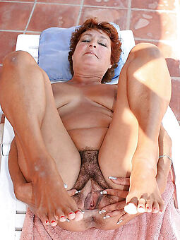 old hairy vagina stripping
