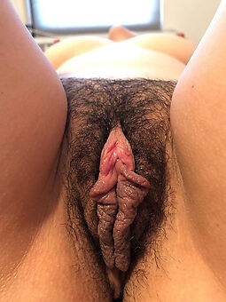 fresh close up hairy pussy stripping