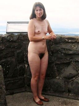 porn pictures of downcast hairy pussy outdoors