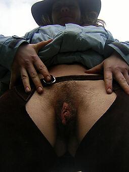nude hairy vagina close up tease