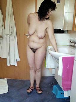 sexy hairy brunette photo