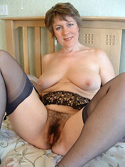 hairy lady hot porn show