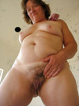 natural granny hairy just