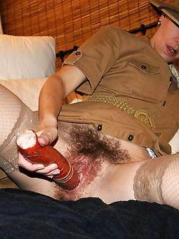 hairy masturbating pussy tease