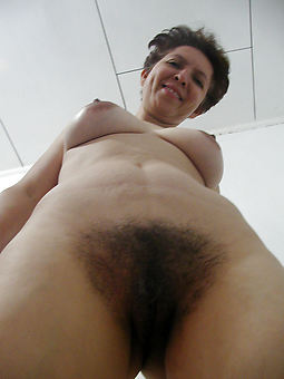 natural hairy fit together seduction