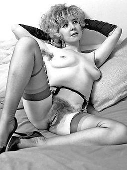 hairy women vintage stripping