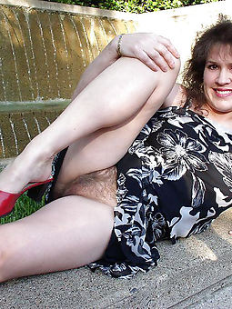 upskirt hairy small-clothes