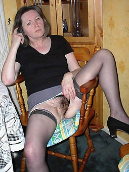 mature hairy upskirt strip