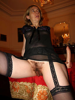 hairy matures in stockings sex pictures