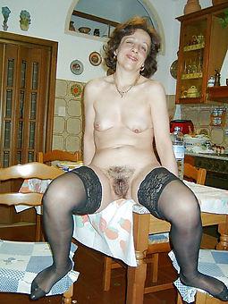 evil hairy women surrounding stockings