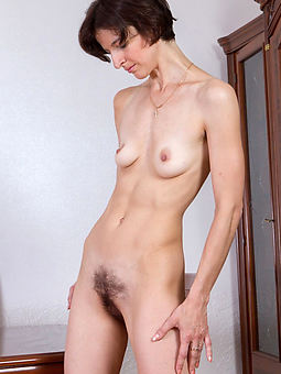hairy skinny girl blandishment