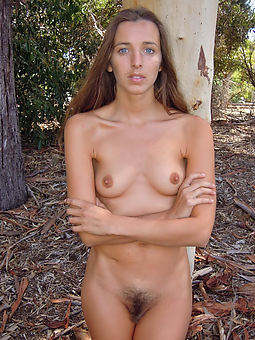 magnificent gaunt hairy mature pussy