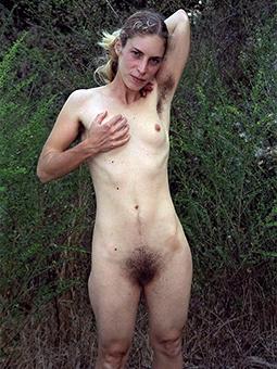 wild skinny hairy mature pussy