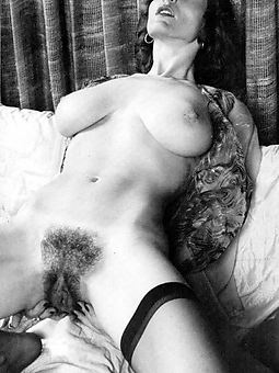 pictures of retro hairy women