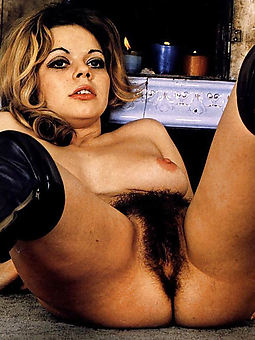 outcast hairy retro women