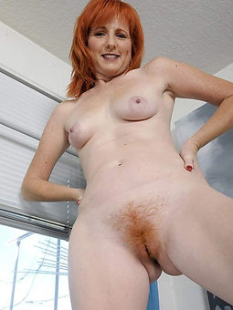 porn pictures of hairy amateur redhead