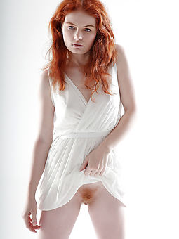 natural nude redhead hairy