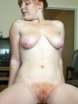 natural hairy redhead wife