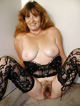 real hairy moms strip