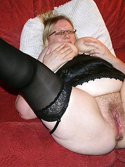 real age-old hairy lady