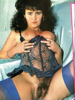 vintage hairy woman seduction