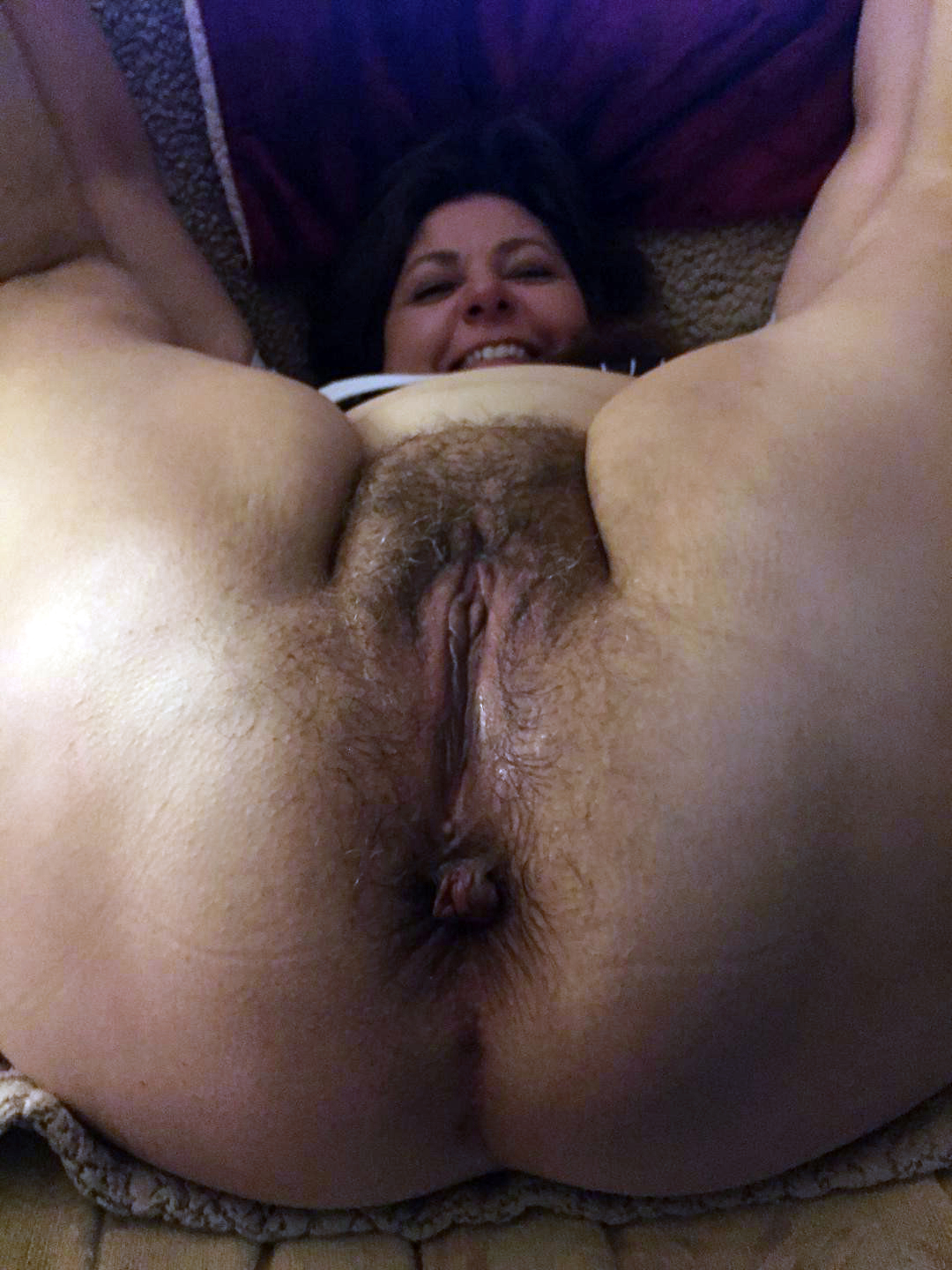 Hairy pussy ass